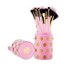 BH Cosmetics: Dot Collection - 11 Piece Brush Set Pink