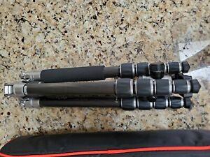 MeFoto RoadTrip C1350 Carbon Fiber Tripod Monopod Kit Titanium