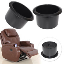 2x  Cup Holder Fit For Boat RV Sectional Couch Recliner Sofa Poker Table ut