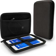 Black EVA Zipper Travel Hard Case Cover Sleeve for Sony Z3 Compact Tablet