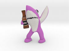 Pink Drunk Shark Figurine Katy Perry Superbowl New!