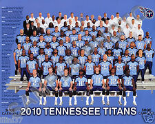 2010 TENNESSEE TITANS TEAM 8X10 PHOTO PICTURE