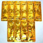 "CALIFORNIA TAN ""X SPEED"" GOLDEN TANNING LOTION LOT OF 10-.5Z PKTS STEP 1- 73.RV"