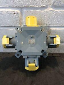 MK 110v 4 Way Splitter