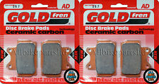 Yamaha SDR 200 Front & Rear Brake Pads 1988 Onwards - Goldfren - SDR200 SDR-200