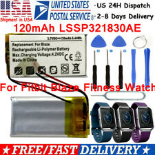 for Fitbit Blaze Fitness Watch Us Seller 120mAh Lssp321830Ae Battery Replacement