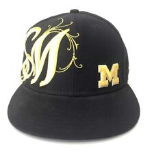 New Era Michigan Wolverines 59FIFTY Hat Cap 7 1 2 NCAA Big 10 01cf92317bf