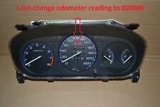 HONDA CIVIC 96-00 Cluster SPEEDOMETER ODOMETER SRS ABS 000000 KMH OEM EDM
