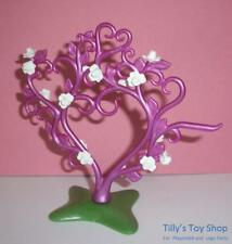 Playmobil petit Bush/Arbre Blanc Avec Rose Fleurs-Mariage/Palace/Fairy Garden