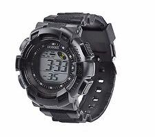 Big Kids Boys Wristwatch Multi-function Alarm Timer Digital Wrist Watch Black