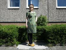 Damenkleid Sommerkleid Handarbeit Blumen 60er TrueVINTAGE 60s dress plus size 48
