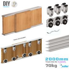 ARES 2 Sliding Door Gear System 70kg/2000mm (3 door)