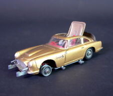 James Bond Auto - Aston Martin  -  Corgi Toys -  Gold