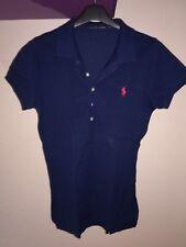 RALPH LAUREN Polo Donna TG M Colore Blu ****ORIGINALE****