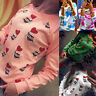 Women's Cute Owl Printed Long Sleeve Hoodie Sweatshirt Pullovers Jumper Sweater