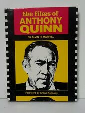 1975 Films of Anthony Quinn Hardcover Book-256 pgs-FREE S&H (AQBO-FW)