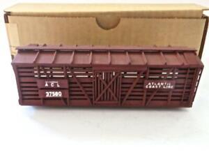 HO Built Main Line Models ACL all Wood Stock Car OB Needs Trucks & Couplers (278