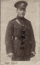WW1 Soldier CSM Warrant Officer Class 2 Manchester Regiment Accrington Photo