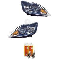 Bi Xenon Scheinwerfer Set Ford Focus II DA3 Bj 08-10 schwarz D1S+H1 1366817