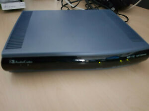 AudioCodes MP-112 VoIP Gateway; 2 Port