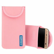 Caseflex Vivo V5 Plus Case Best Neoprene Pouch Skin Cover - Baby Pink