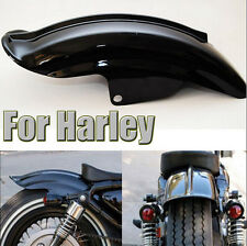 Mudguards Rear Fender For Harley Davidson Solo Seat Bobber Chopper Cafe Racer