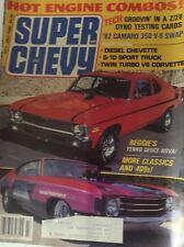 Super Chevy Magazine '82 Camaro 350 V-8 Swap July 1982 090417nonrh
