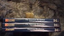 The Civil War History Channel THE AMERICAN REVOLUTION ENGLAND Lot of 3