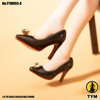 1/6 Female High Heeled Point shoes Model TYM093 12'' Phicen Jo Figure Accessory