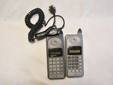 2 Vintage Retro Motorola Tele T-A-C 250 Cell Phone 90's For Parts or Repair