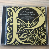 J.S. Bach : The Complete Partitas BWV 825-830 (2 x CD 2001) Bernard Roberts