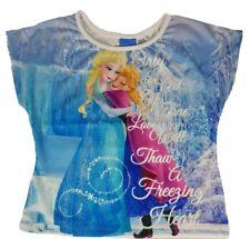Disney Frozen Anna and Elsa Short Sleeve T-shirt 2-3 Years