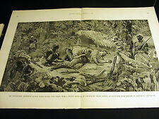Stanley-Emin Expedition Abonshuba DR. PARKE SUCKS POISON WOUND1890 Large Print