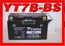 BATTERIE MOTOS ET SCOOTER YUASA YT7B BS YT7B-BS ORIGINAL ET LES NOUVEAUX 0650710