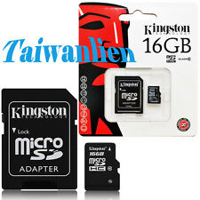 Kingston 16GB 16G Class10 Micro SD Micro SDHC MicroSD TF Flash Memory Card