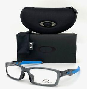 Oakley Crosslink (A) OX8118-0656 Polished Gray Smoke / Demo Lens 56mm Eyeglasses