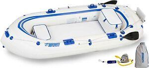 Sea Eagle SE9 Inflatable Motormount Boat - Fisherman's Dream Package, Free Ship