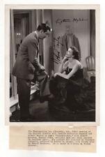Katharine Hepburn and Robert Taylor Autographed Film Still 1946