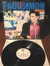 PAUL SIMON hearts and bones -LP- Wea - made in Italy -1983 - inner con testi