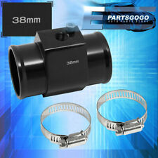 38mm Radiator Hose Temperature Sensor Adapter Black Breather Tank Adapter