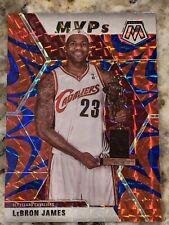 New Listing2019-20 Mosaic Lebron James Mvp Reactive Blue Prizm Cavaliers Lakers #298