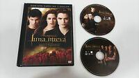 SAGA CREPUSCULO TWILIGHT LUNA NUEVA 2 X DVD + LIBRO ED ESPECIAL ESPAÑOL ENGLISH