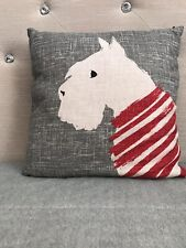 Next Home Westie Dog Cushion