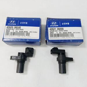 4262039200 4262139200 Input Output Speed Sensor 2PCS For 2006-2012 Hyundai Kia