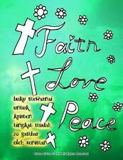 Buku Mewarnai Untuk Kristen Tingkat Mudah 20 Gambar Oleh Seniman by Grace...
