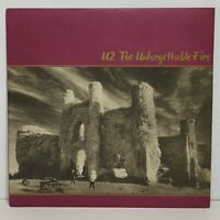U2 ‎– The Unforgettable Fire: Island Records 1984 Vinyl LP Album (Pop Rock)
