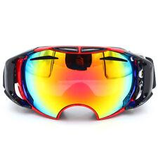 Cuzaekii Ski Snowboard Goggles Anti-fog Double Lens UV400 Glasses Eyewear Mask