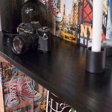 90cm WIDE BLACKWOOD BLACK ASH WOOD STICKY BACK PLASTIC SELF ADHESIVE VINYL FILM