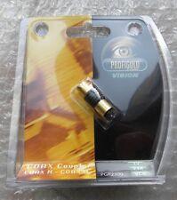 PROFIGOLD VISION COAX COUPLE MASCHIO MASCHIO 24 K GOLD DVD  NEW