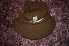 DALE of Norway Knit Wool Visor/Hat